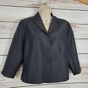 Harris Wallace | Vintage Silk Buttoned Blazer